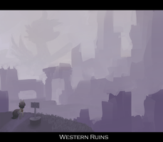 Western Ruins by BerryDrops