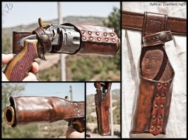 Formed Gun Holster by Adhras