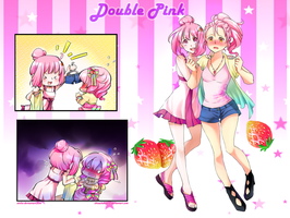 TT: DOUBLE PINK by chisacha
