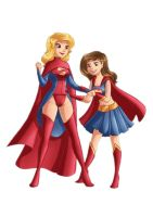 Supergirl Specail Occasion Kara Ariella Check Up by kclcmdr