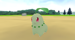 Chikorita + DL by Valforwing