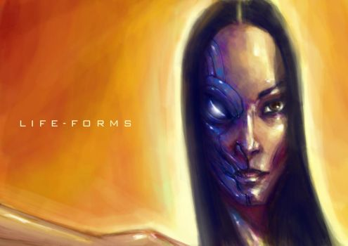 LIFE FORMS 0.3 by QuinteroART
