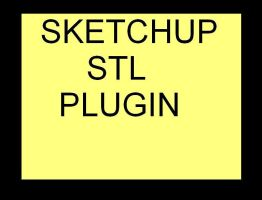 Sketchup stl plugin by Lashington