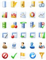 Featured Database icons by artistsvalley