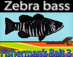 Zebra Bass from Big Ol' Bass fisherman's Bait 3 by BenioxoXox