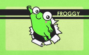 Froggy Wallpaper by asianpride7625