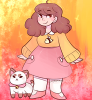 Bee and Puppycat by AngelicMiyukiChan