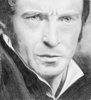 Jean Valjean - Les Miserables - Hugh Jackman by J-Mah