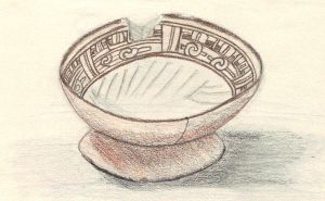 Meztec Bowl by CherokeeGal1975