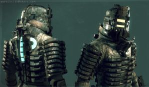 Dead Space character model by Bawarner