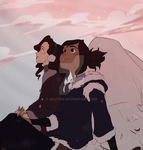 korrasami month - day 28-30 hands by Dilutra