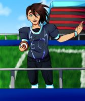Now, before the kick-off... by HoshinoDestiny