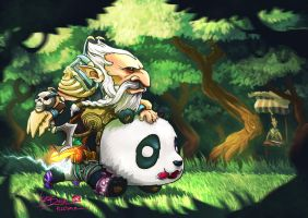 Lone Druid Dota 2 by n2c