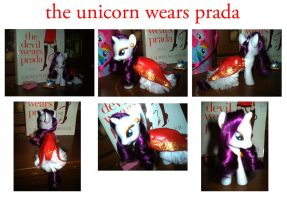 Custom MLP : The Unicorn Wears Prada by marienoire