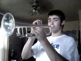 Me and my Trumpet by XxXK1D0fTH3D34DxXx