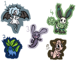 Adopt Pokemon Hybrids OPEN by racotaco