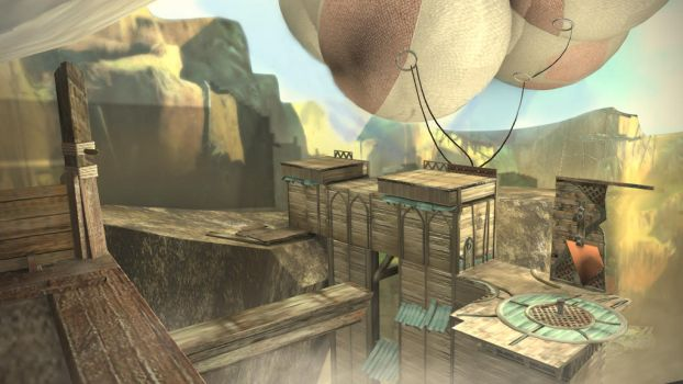 Prince of Persia's Setting by MoodyBloon