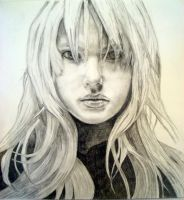 Pencil Portrait by rilla42