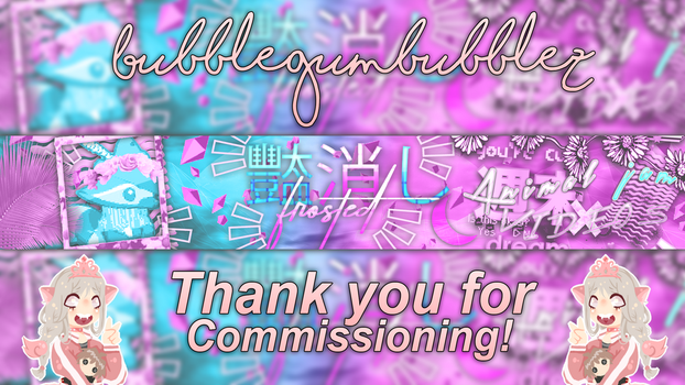 Finished banner for frosted by Princess2641AJ