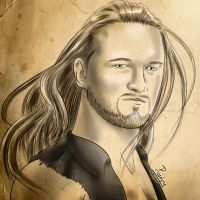 Drew McIntyre, traditional. by Roselyne777