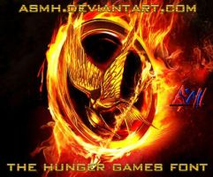 The Hunger Games Font by ASMH