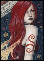 ACEO -- Autumn Splendor by ElvenstarArt