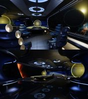 WIP 3D Space Game Environment by simonrance