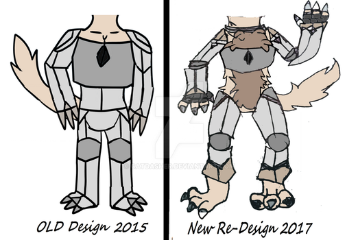 Vicir Design  changes - Body example by CatDasher
