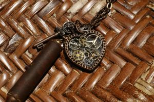 Steampunk Pendant #2 by rebex1213