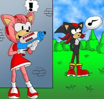 Amy vs. Shadow v2 by Chukkz