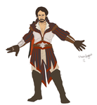 ACII RP - Federico Auditore Assassin Outfit by T-M-Wolf