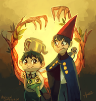 Over The Garden Wall by MusicalCombusken