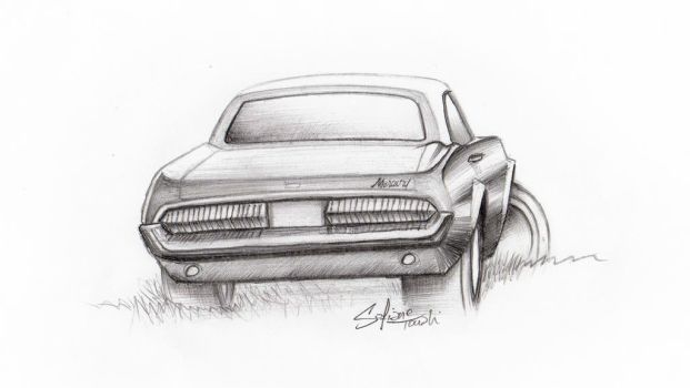Mercury Cougar 1967 by SofianeTOUATI