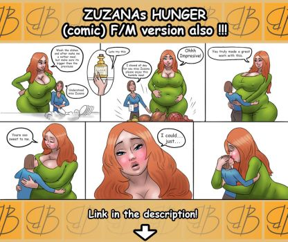 Zuzanas hunger (vore/stuffing) by bigbig-on-da