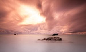 Rarotonga Sunset by 2binspired