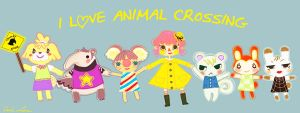 I Heart Animal Crossing by SpaceCadetAmy