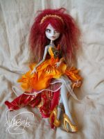 Monster High OOAK Phenix by Flfleur