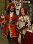 SDCC - Red Sonja and Friend by StephenBergstrom