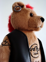 Don't mess with the punk bear by UltimeciaFFB