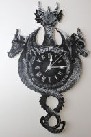 dragon clock by Macca4ever