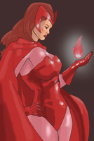 Scarlet Witch by Greendayrox489