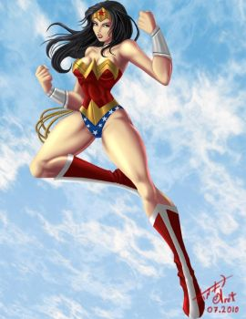 Diana the Amazons Princess by odeloth