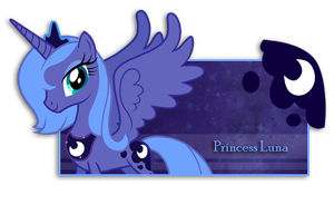 Firma de Princess Luna by Darkselia