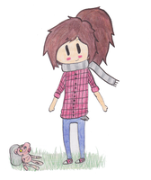 Ellie and Hambo | The Last of Us | Adventure Time by DeadAppleToast
