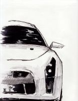 Nissan GT-R by nicollearl