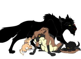 Puppy Sitting by alpha-wolf-crow