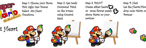 PM14 Arty Mario: Art Heart by The-PaperNES-Guy