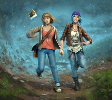 MAX AND CHLOE - LIFE IS STRANGE by dante-cg