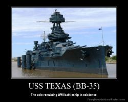 USS Texas (BB-35) by Onikage108