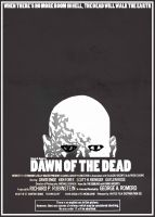 Dawn Of The Dead 1978 Poster by TheHorrorsOfWar